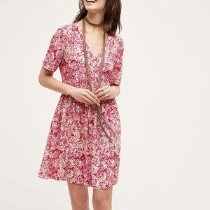 Anthropologie | HD in Paris | Pink Floral Dress